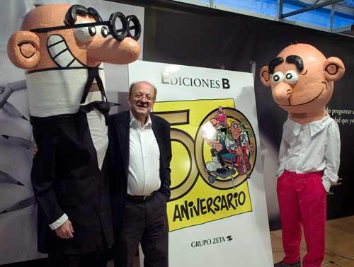 Exposición FRANCISCO IBÁÑEZ, EL MAGO DEL HUMOR en Madrid