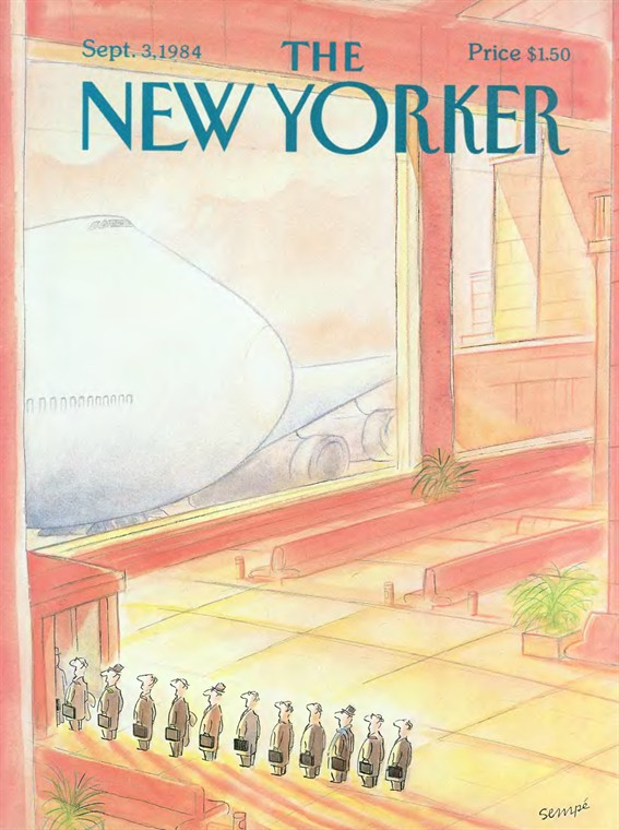Sigamos disfrutando de las portadas de Semp para The New Yorker. Y todava queda.
