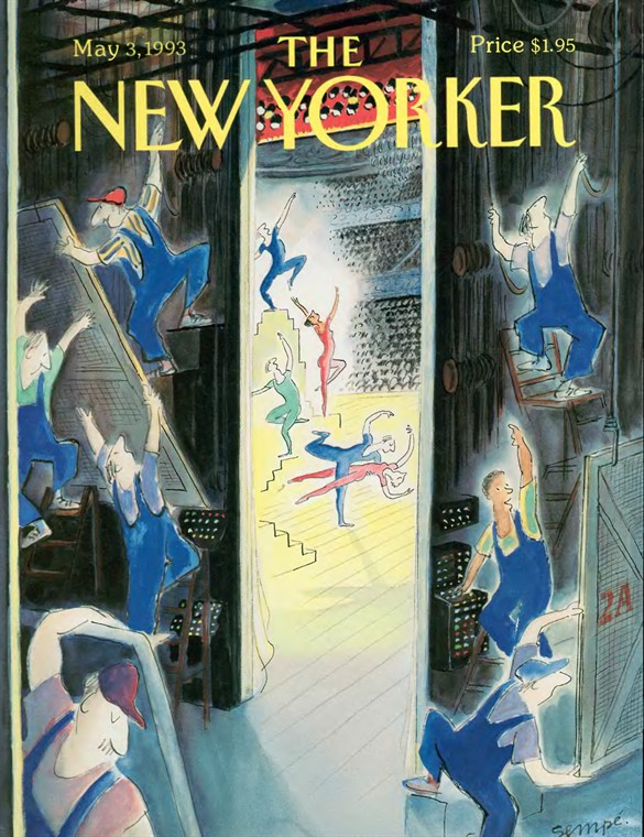 Tercera entrega recopilando las portadas de Semp para The New Yorker. Llegamos al ecuador con...