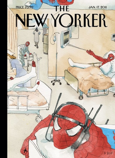 La portada de esta semana de The New Yorker, de Barry Blitt.