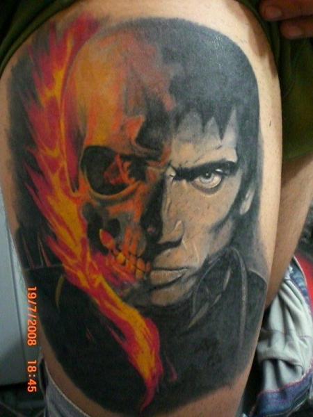 2813-ghost-rider-johnny-blaze-tattoo_large