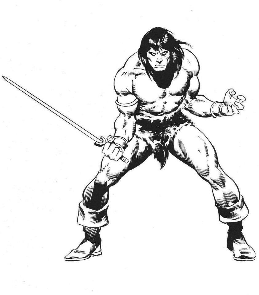 Conan by Buscema