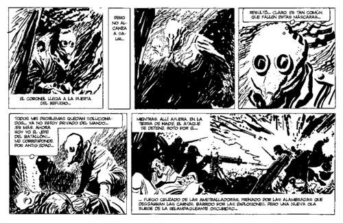 A. Breccia y H. Oesterheld - Ernie Pike (Gas, Hora Cero Semanal Nro. 97, julio de 1959)