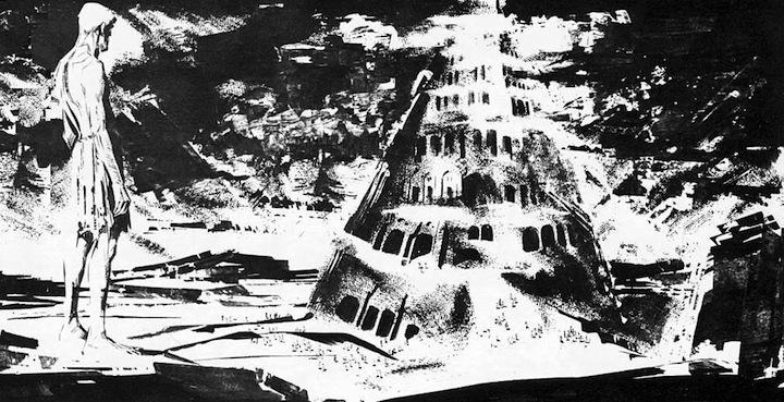 A. Breccia y H. Oesterheld, Mort Cinder (La Torre de Babel, revista Misterix, 1963)