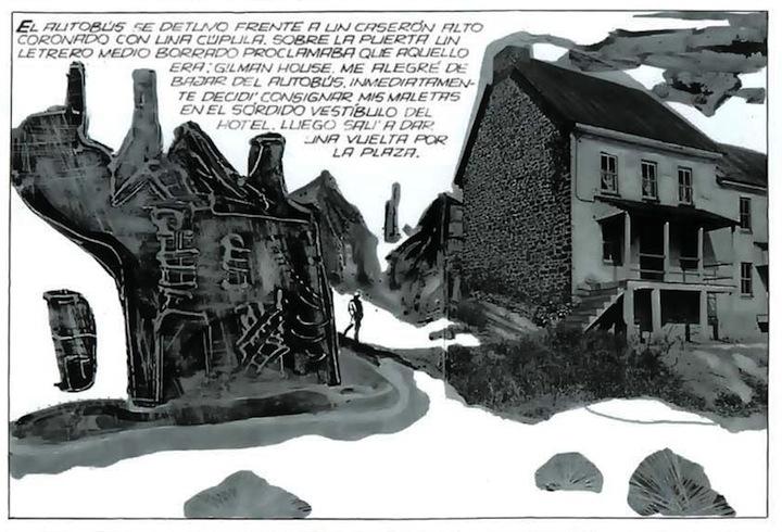 A. Breccia y Norberto Buscaglia - Los Mitos de Cthulhu - La Sombra sobre Innsmouth (Il Mago, 1973)_02