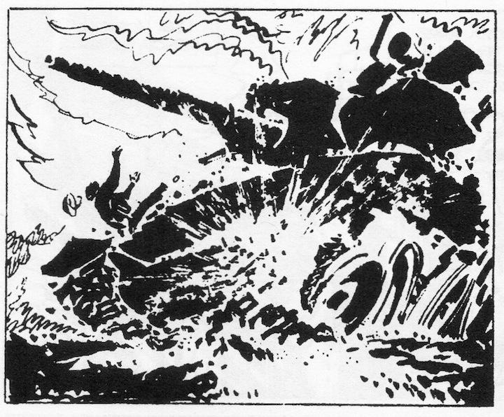 Alberto Breccia  - Ernie Pike - Kumba (Hora Cero Extra Nro. 6, febrero de 1959), Editorial Frontera