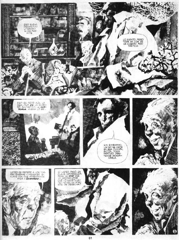 Alberto Breccia y Juan Sasturain - Perramus (Revista Fierro, 1985)