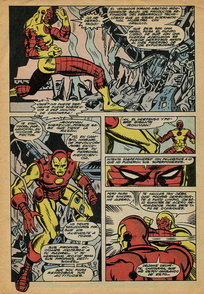 Ironman (Editora Nacional Gabriela Mistral, 1978)