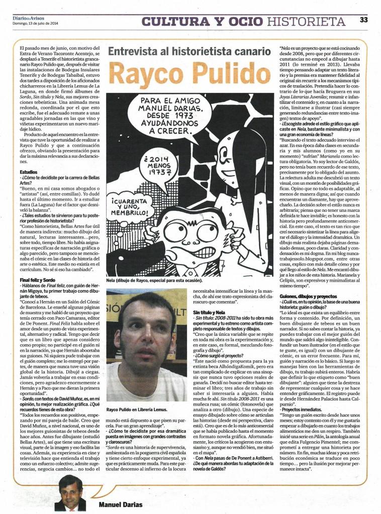 1904 Rayco Pulido (Entrevista)