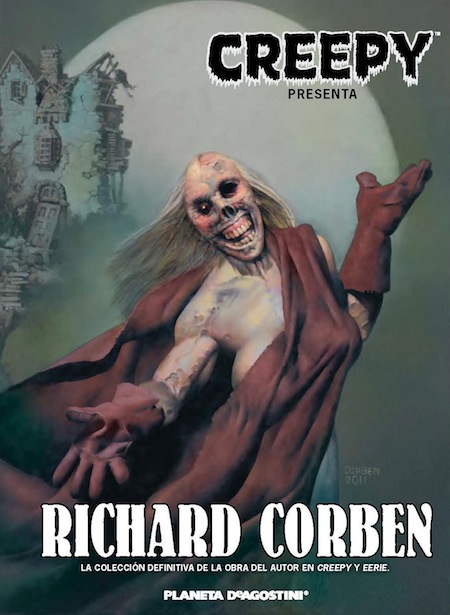 portada creepy presenta richard corben