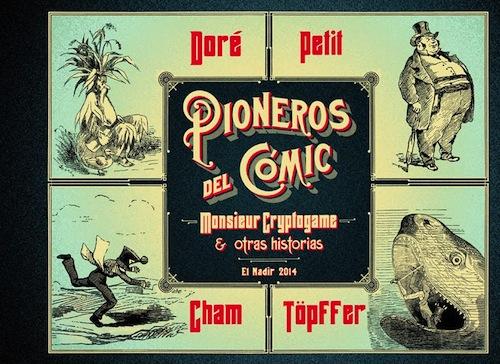 portada pioneros del cómic