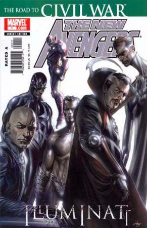 New Avengers Civil War 01